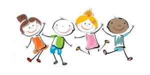 children playing image