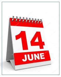 14 June