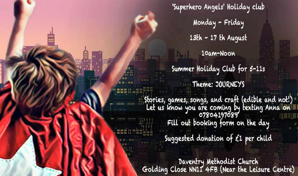 Summer SuperHero Angels Club