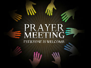 Prayer mtg