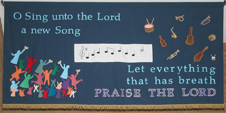 Banner Praise the Lord