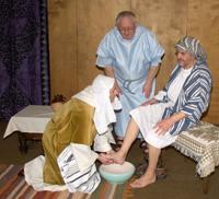 Washing Peter's Feet