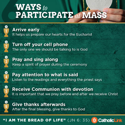 Participate at Mass