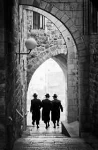 A quiet street in Old Jerusalem