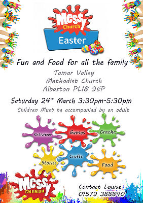 Large Messy Church Poster