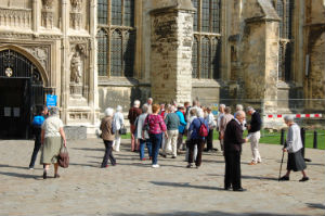 Canterbury Cathedral outing 2011