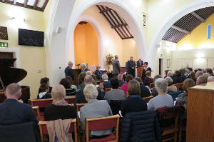 Induction of Rev Graham Dadd, November 2017