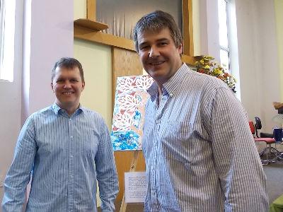 Tim Hastie-Smith and Andrew Goldsmith