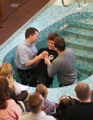Tom C Baptism