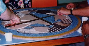 Making the mosaic