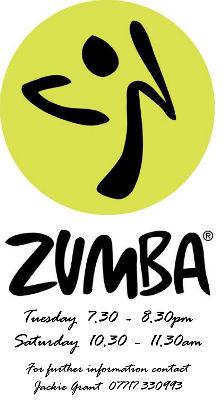 Zumba leaflet