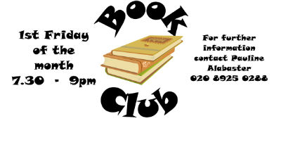 Book Club leaflet