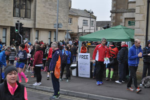 Teas and Coffee offered to the runners
