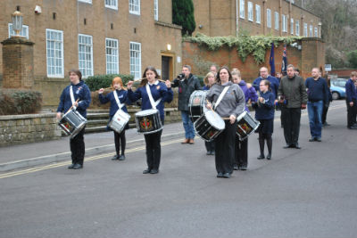 Parade 12th Feb