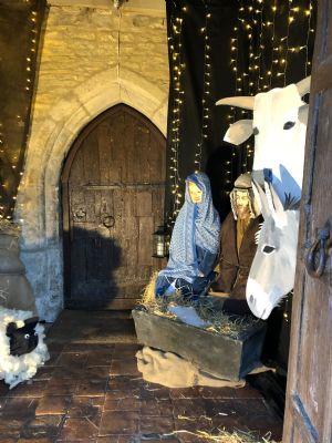 Porch Nativity