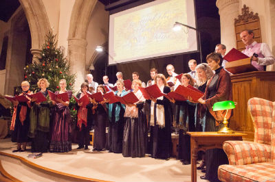 Around the world choir