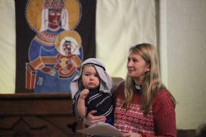 Pop-up Nativity at St John's