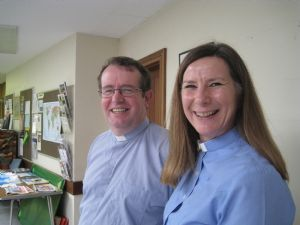 Rev Anthony Everett & Rev Helen Durant Stevensen