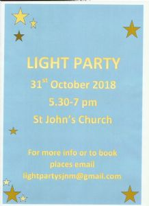 Light Party 31-10-18