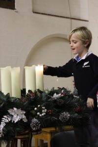 Christingle - candles