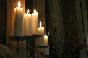 Christingle side candles