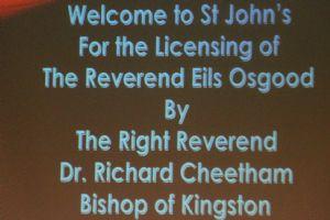 Eils Osgood Licensing at St John's