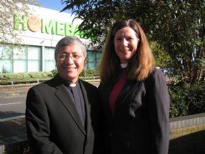 Rev Eddie Marquez & Rev Helen Durant Stevensen