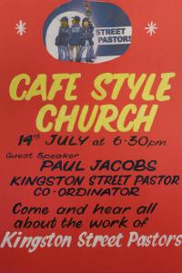 Street Pastors - Café Style