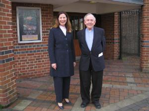 Revds Helen Durant-Stevensen and  Peter Yacomeni
