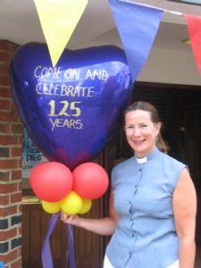 Rev. Helen Durant-Stevensen celebrates St. Johns 125th