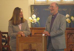 Bishop Martin Wallace interviewed