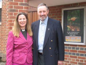 Revd Helen Durant-Stevensen & Revd Richard Zair