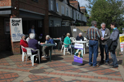 Street Café 10th May 2014