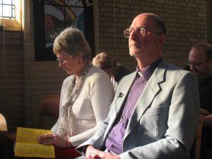 Bishop Martin Wallace & wife Diane
