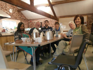 Cooking team - Venture Camp 2013 - Blaithwaite