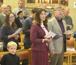 Carol Singing Record Attempt