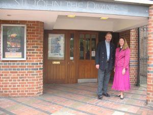 Revd Richard Zair & Revd Helen Durant-Stevensen