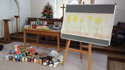 Harvest - gifts for the Foodbank