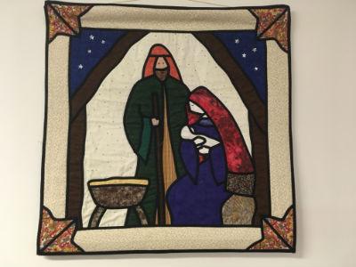 Christmas banner - Nativity
