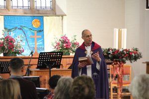 Bishop Richard at St John's