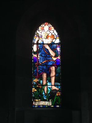 ST CHRIS WINDOW