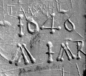 Graffiti 1646