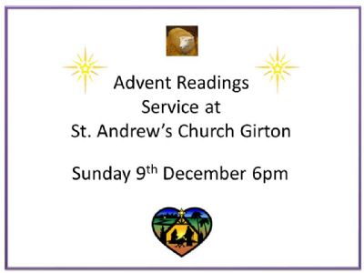 Advent readings Service