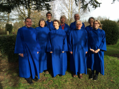 Our Choir together in 2015
