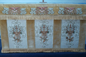 New altar frontal March 2016