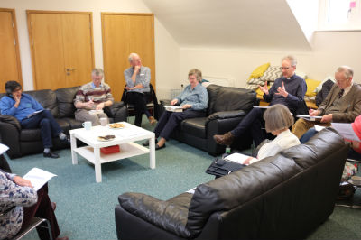 The PCC discuss Mission