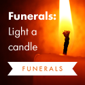 Link to Funerals: Light a candle 1.
