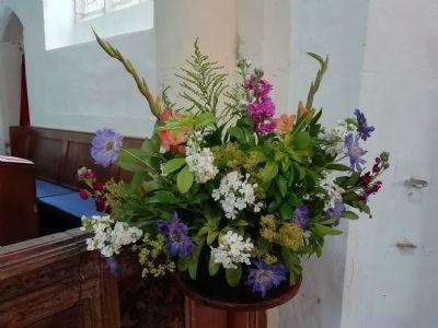 Flowers, 2nd said Morning Prayer