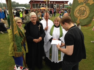 magna carta celebrations in bell rope meadow
