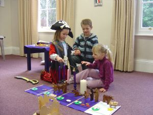 children at play learning